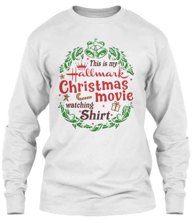 Hallmark Christmas Shirt.This Is My Hallmark Christmas Movies Watching Shirt Ii